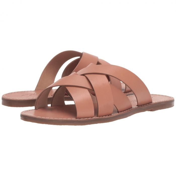 MADEWELL ウーブン サンダル レディース 【 The Boardwalk Woven Slide Sandal 】 Antique Coral