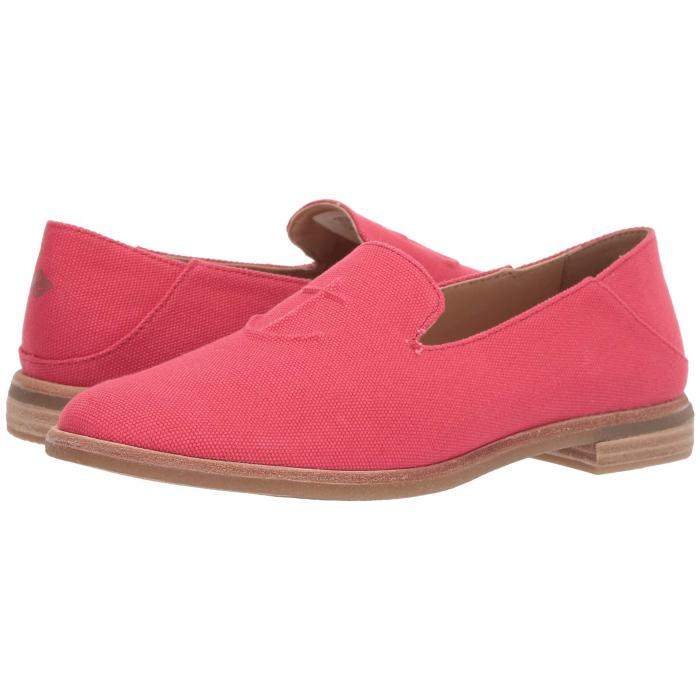 SPERRY レディース 【 Seaport Levy Canvas 】 Red