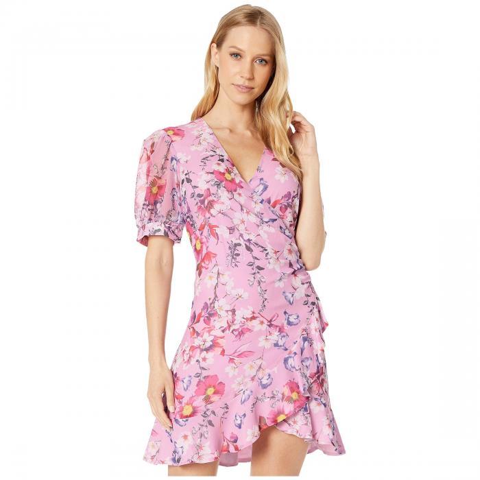 バルドット BARDOT ドレス 【 BARDOT LORITA FLORAL DRESS NEON 】 レディースファッション ドレス