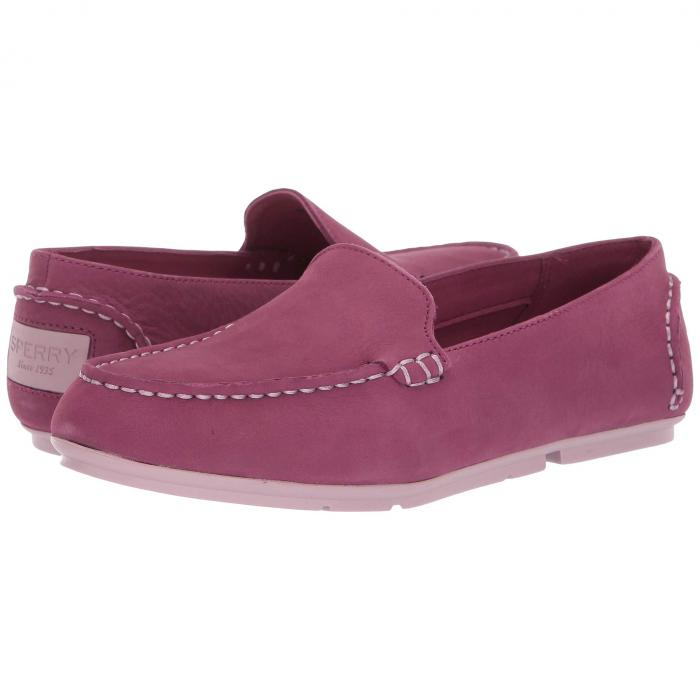 SPERRY スリッポン レディース 【 Bay View Slip-on 】 Berry