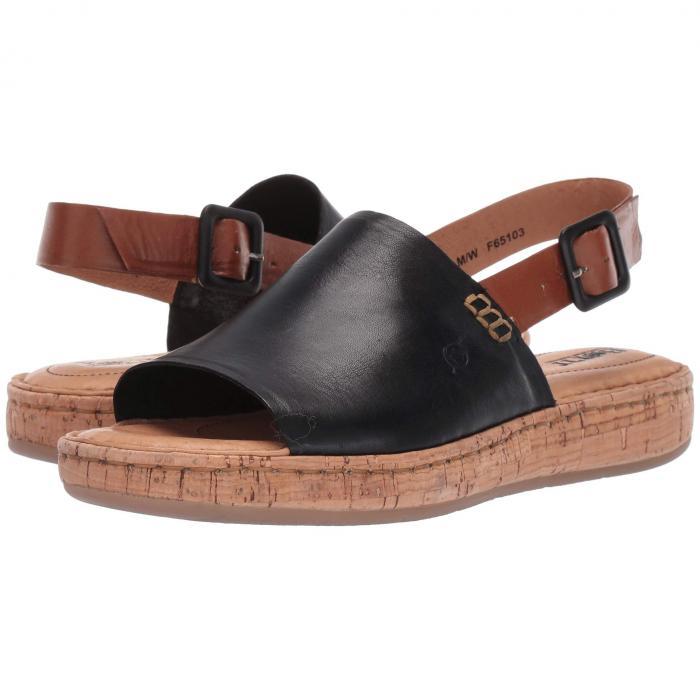 ボーン BORN レディース 【 Fremont 】 Black/brown Full Grain Leather Combo