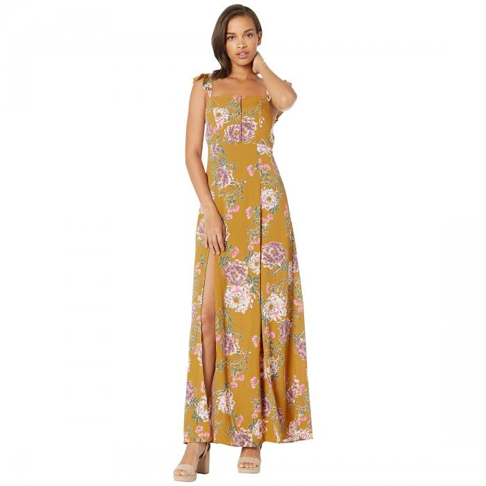 FLYNN SKYE ドレス レディースファッション ワンピース レディース 【 Bardot Maxi Dress 】 Golden Hour