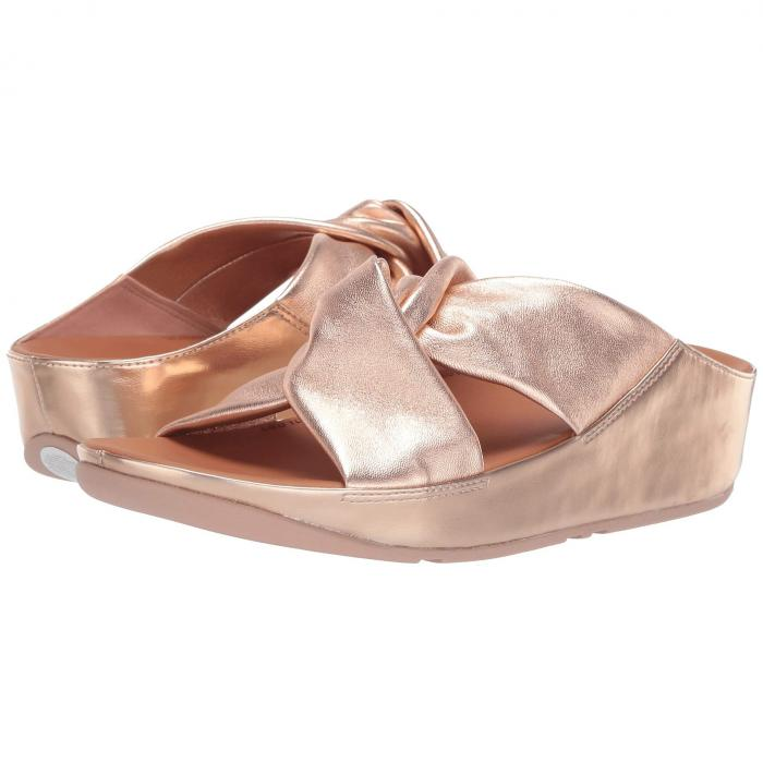 FITFLOP 【 TWISS SLIDE ROSE GOLD 】 送料無料