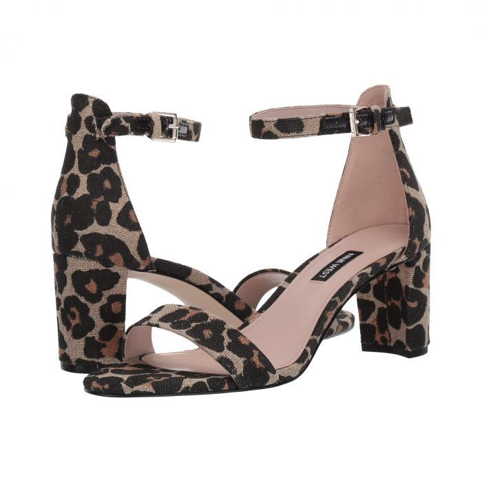 NINE WEST レディース 【 Pruce Block Heel Sandal 】 Natural Multi