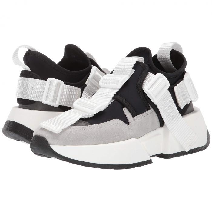 【スーパーセール中! 6/11深夜2時迄】MM6 MAISON MARGIELA スニーカー レディース 【 Center Loop Sneaker 】 Jet Black/steel Gray/paloma