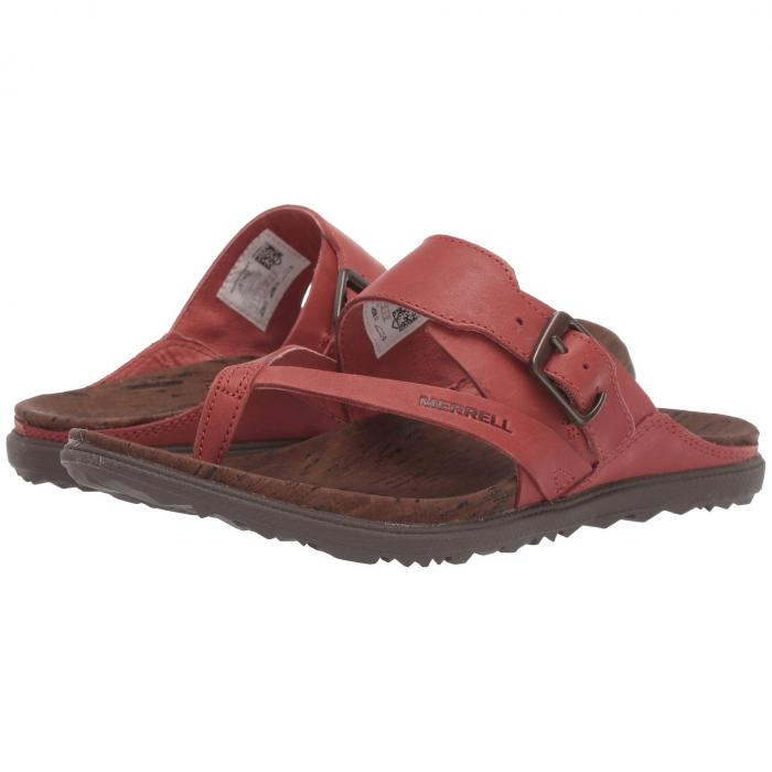 MERRELL アラウンド バックル レディース 【 Around Town Luxe Buckle Thong 】 Redwood