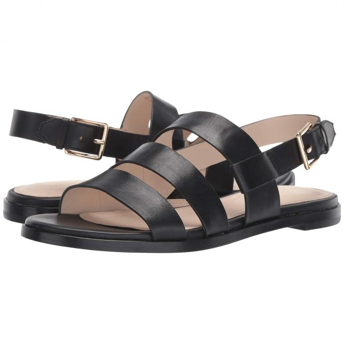 コールハーン COLE HAAN グランド 【 ANELA GRAND SANDAL BLACK LEATHER 】 送料無料