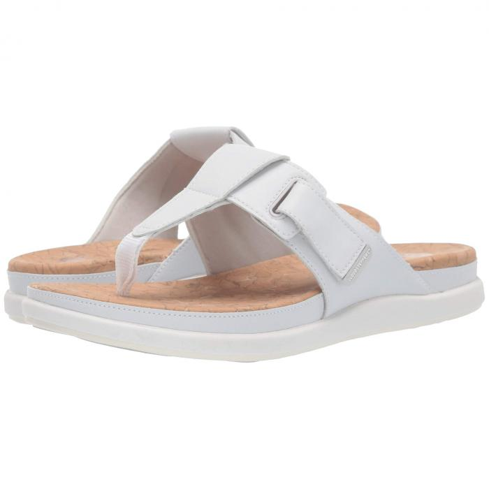 クラークス CLARKS 【 STEP JUNE REEF WHITE SYNTHETIC 】 送料無料
