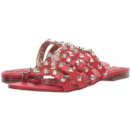 SAM EDELMAN 赤 レッド 【 RED BEATRIS CANDY VAQUERO SADDLE LEATHER 】 送料無料