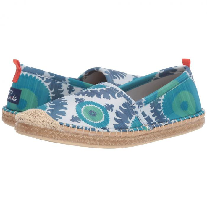 SEA STAR BEACHWEAR 【 BEACHCOMBER ESPADRILLE WATER SHOE BLUE SUZANI 】 送料無料