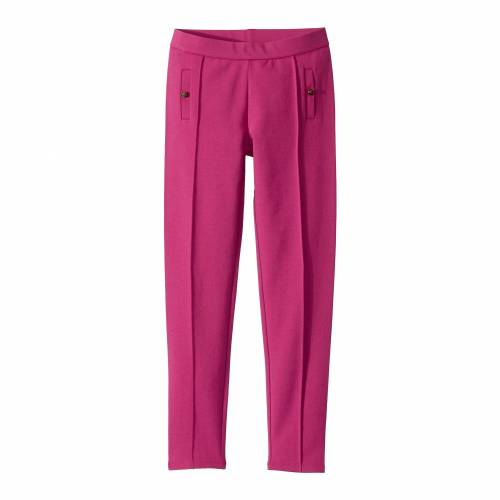 JANIE AND JACK 【 PONTE PANTS TODDLER LITTLE KIDS BIG BERRY PURPLE 】 キッズ ベビー マタニティ ボトムス 送料無料