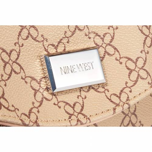 NINE WESTNINE WEST CORALIA MINI TUNNEL CROSSBODY MOCHA MULTIバッグiPuOXZk