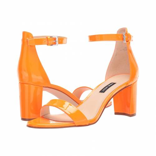 NINE WEST レディース 【 Pruce Block Heel Sandal 】 Neon Orange