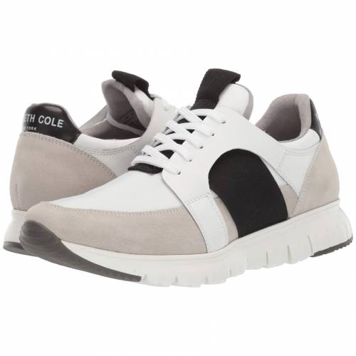KENNETH COLE NEW YORK ジョガーパンツ スニーカー メンズ 【 Bailey Jogger B 】 White 1