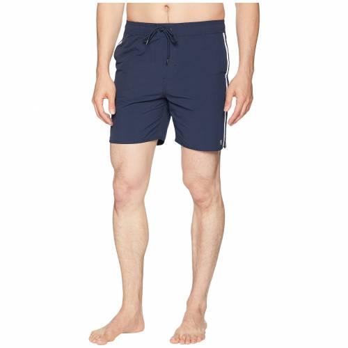 ブリクストン BRIXTON 【 SANTOS TRUNK NAVY WHITE 】 メンズファッション 水着 送料無料