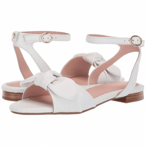 TARYN ROSE レディース 【 Vivian 】 White Metallic Nappa