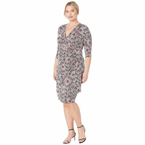 KIYONNA ドレス レディースファッション ワンピース レディース 【 Ciara Cinch Dress 】 Stencil Floral Print