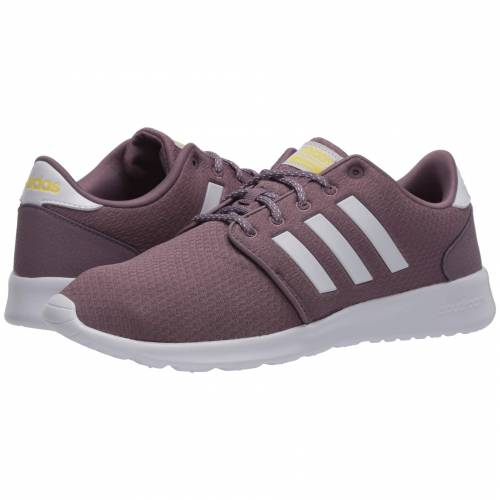アディダス ADIDAS スニーカー 【 CLOUDFOAM QT RACER LEGACY PURPLE FOOTWEAR WHITE SHOCK YELLOW 】 送料無料