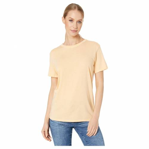 HURLEY ハーレー Tシャツ 【 HURLEY BURNOUT TSHIRT MELON TINT 】 レディースファッション トップス Tシャツ カットソー