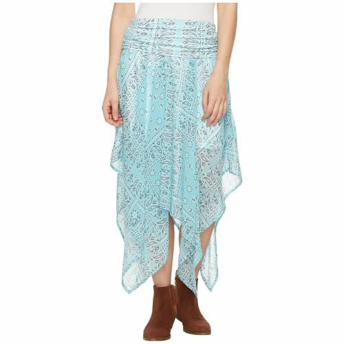TASHA POLIZZI レディースファッション ワンピース レディース 【 Handkerchief Skirt 】 Blue