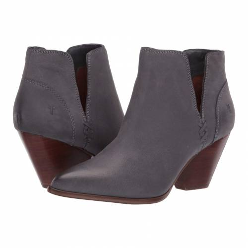 FRYE レディース 【 Reina Cut Out Bootie 】 Jeans Tumbled Nubuck