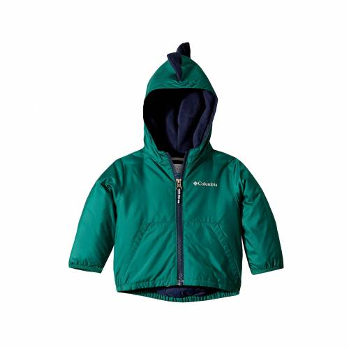 コロンビアキッズ COLUMBIA KIDS 緑 グリーン 【 GREEN COLUMBIA KIDS KITTERWIBBIT JACKET INFANT TODDLER PINE COLLEGIATE 】 キッズ ベビー マタニティ コート