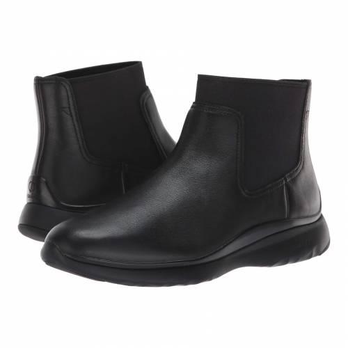 コールハーン COLE HAAN 3.zerogrand レディース 【 3.zerogrand Chelsea Waterproof Bootie 】 Black Leather
