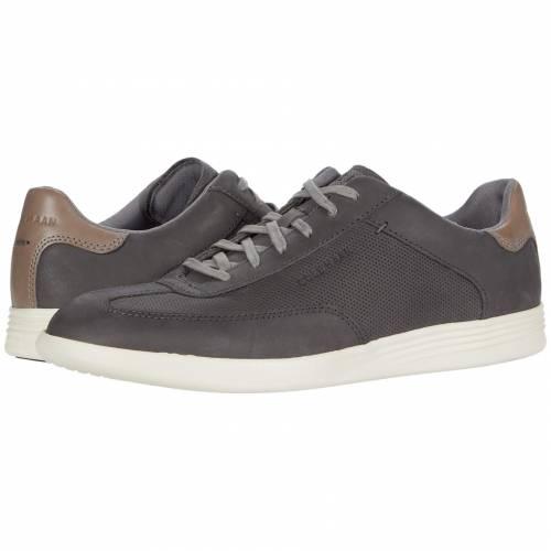 コールハーン COLE HAAN グランド ターフ スニーカー メンズ 【 Grand Crosscourt Turf Sneaker 】 Gray Pinstripe Perf