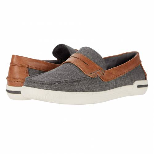 KENNETH COLE UNLISTED メンズ ローファー 【 Un-anchor 】 Brown/grey