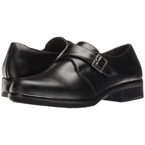 NAOT レディース 【 Borasco 】 Black Madras Leather