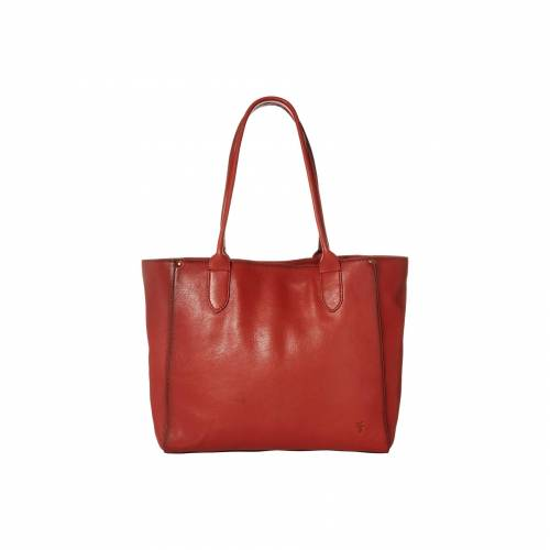 FRYE 橙 オレンジ 【 ORANGE FRYE OLIVIA EAST WEST TOTE BURNT 】 バッグ
