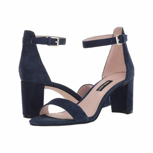 NINE WEST レディース 【 Pruce Block Heel Sandal 】 Navy