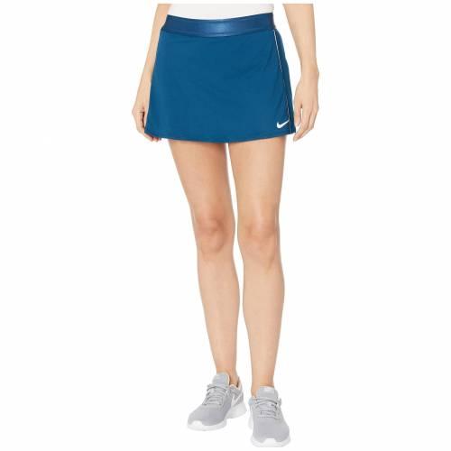 ナイキ NIKE カウント レディースファッション ボトムス スカート レディース 【 Court Dry Skirt Stretch 】 Valerian Blue/white/white/white