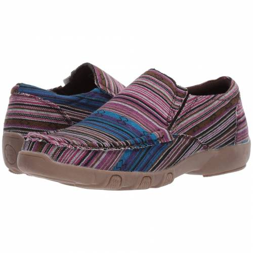 ROPER レディース 【 Johnnie 】 Purple/blue Multicolored Stripe