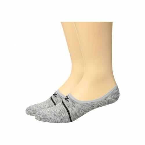 ナイキ NIKE インナー 下着 ナイトウエア ユニセックス 下 レッグ 【 Sneaker Sox Essential Footie 2-pair Pack 】 Wolf Grey/black/black