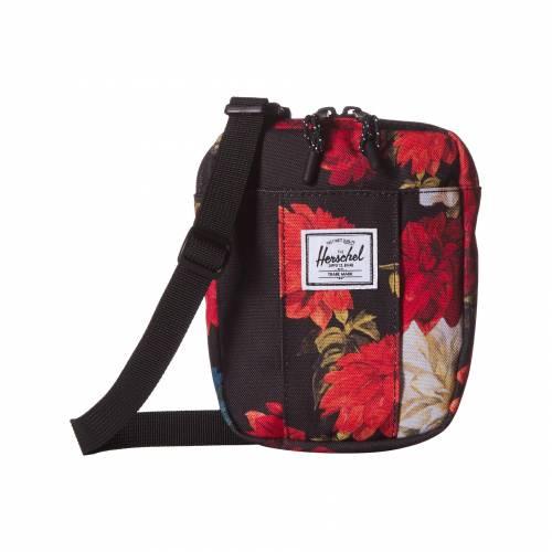 HERSCHEL SUPPLY CO. バッグ ユニセックス 【 Cruz 】 Vintage Floral Black