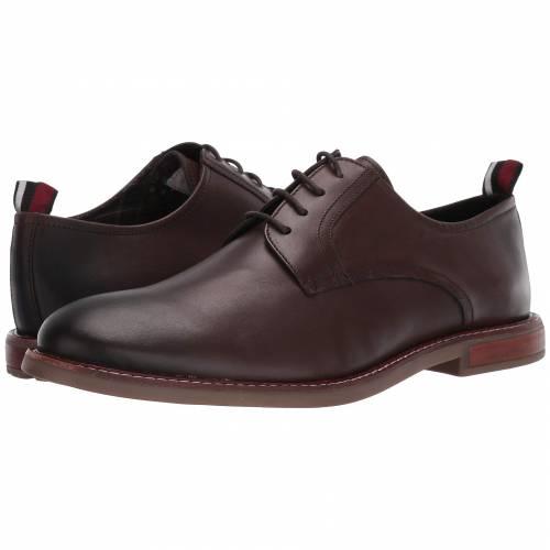 ベンシャーマン BEN SHERMAN メンズ ビジネススニーカー 【 Birk Plain Toe 】 Dark Brown Leather