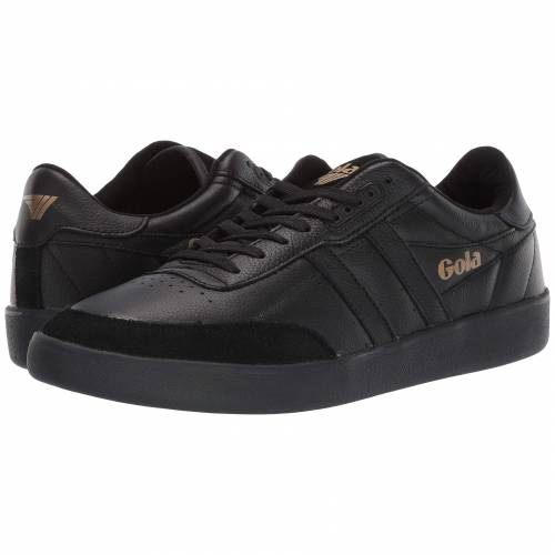 GOLA レザー スニーカー メンズ 【 Inca Leather 】 Black/black/black