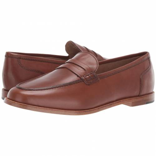 J.CREW ペニー レザー レディース 【 Ryan Penny Loafers In Leather 】 Burnished Pecan