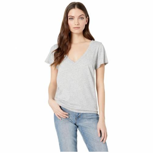 PAIGE Tシャツ レディースファッション トップス レディース 【 Zaya Tee 】 Heather Grey