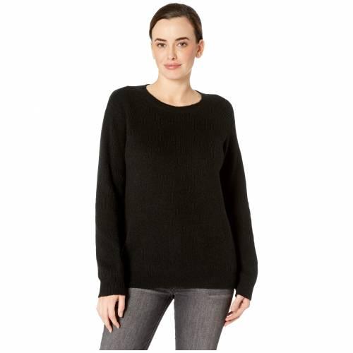 NYDJ レディースファッション トップス ニット セーター レディース 【 Velvet Tie Back Sweater 】 Black