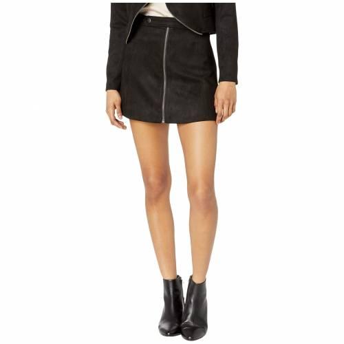 JACK BY BB DAKOTA スエード スウェード レディースファッション ボトムス スカート レディース 【 Lady Crush Faux Suede Skirt 】 Black