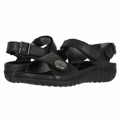 ドリュー DREW レディース 【 Walkabout 】 Black Leather