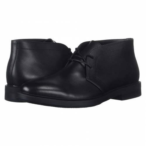 カルバンクライン CALVIN KLEIN メンズ ブーツ 【 Cam 】 Black Smooth Calf Leather