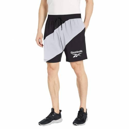 リーボック REEBOK ワークアウト ウーブン グラフィック ショーツ ハーフパンツ メンズファッション ズボン パンツ メンズ 【 Workout Ready Woven Graphic Shorts 】 Black 2