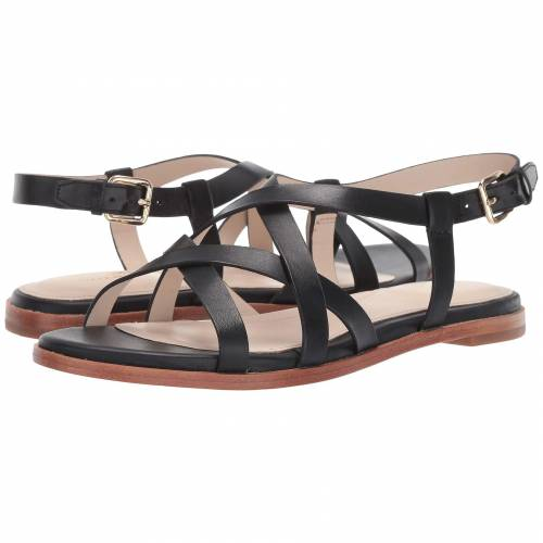 コールハーン COLE HAAN グランド レディース 【 Analeigh Grand Strappy Sandal 】 Black Leather