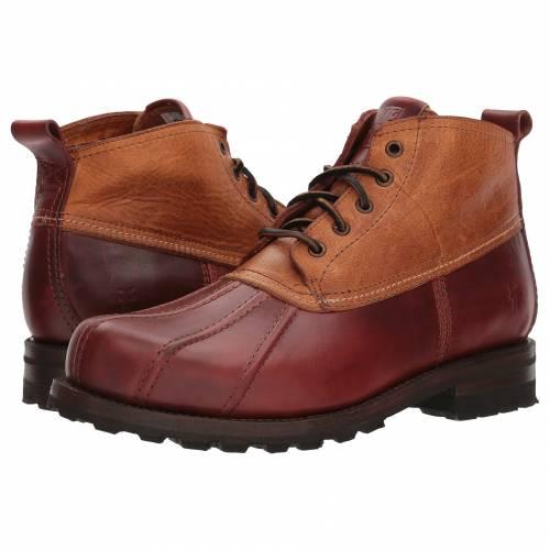 FRYE メンズ ブーツ 【 Warren Duckboot 】 Cinnamon Multi Smooth Full Grain/washed Vintage Leather