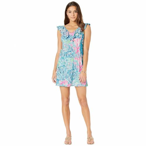 LILLY PULITZER 【 LILLY PULITZER ALESSA ROMPER MULTI SINK OR SWIM 】 レディースファッション