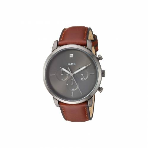 FOSSIL 茶 ブラウン 【 BROWN FOSSIL NEUTRA CHRONO FS5582 SMOKE 】 腕時計 メンズ腕時計