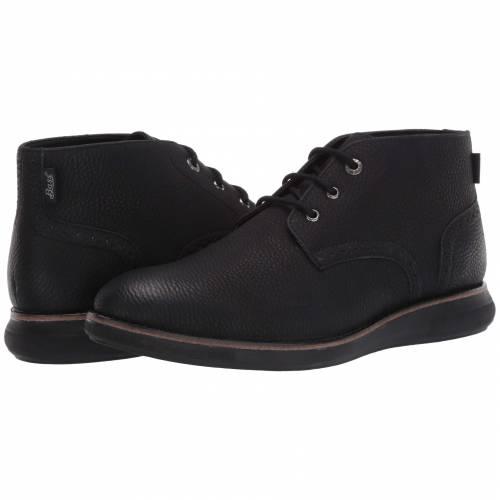 G.H. BASS & CO. 黒 ブラック G.H. & CO. 【 BLACK BASS BENSON WX MONOCHROME 】 メンズ ブーツ
